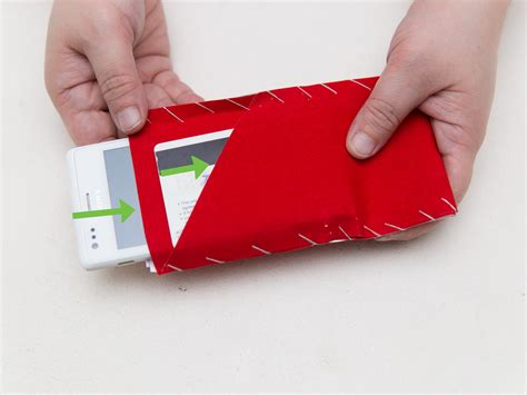 How To Make A Paper Phone - how to make a felt phone with pictures wikihow
