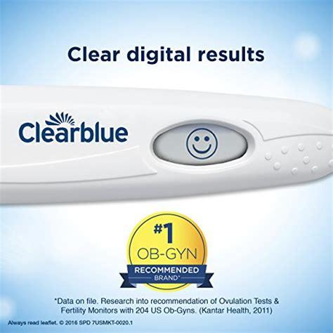 wann clearblue ovulationstest machen clearblue digital ovulation test 20 ovulation tests buy