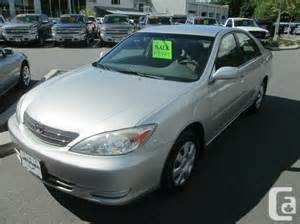 2003 Toyota Camry Le 2003 Toyota Camry Le For Sale In