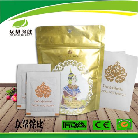 Royal Detox by Oem Thailand Royal Detoxification Foot Patch Buy Royal