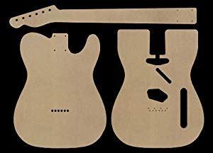 telecaster guitar template telecaster mdf guitar and neck template
