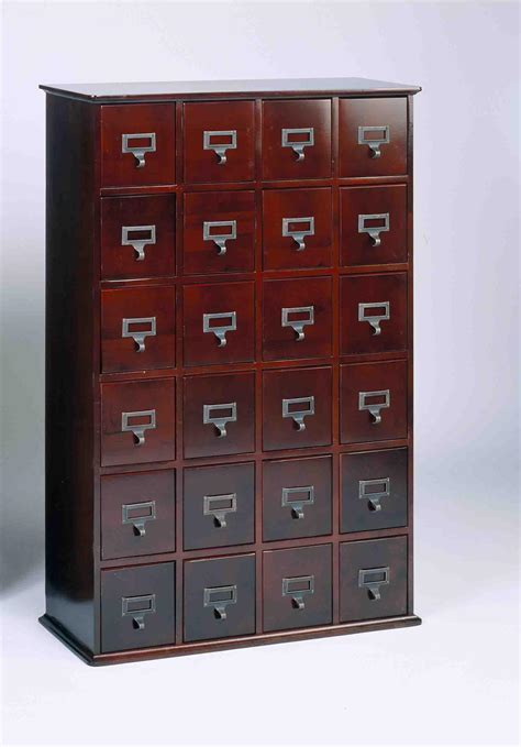 library card file cabinet leslie dame library card file multimedia cabinet by oj