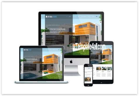 at free homes for rent real estate joomla template