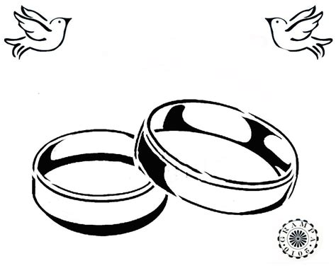 how to draw wedding rings engagement ring drawing clipart best