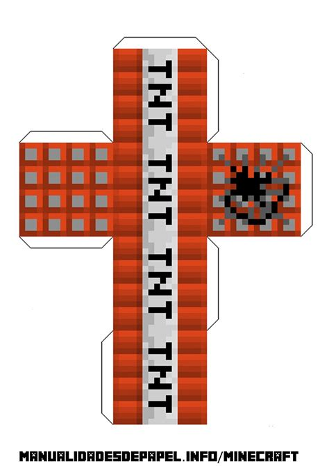 minecraft tnt block template minecraft tnt block template image collections free