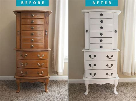 jewelry armoire makeover jewelry armoire redo diy crafts pinterest