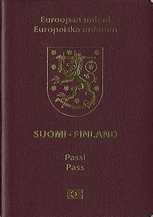 visa requirements  finnish citizens wikipedia