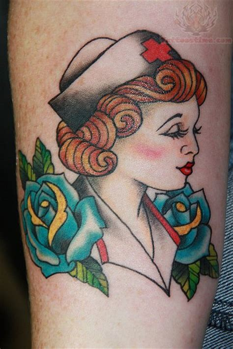nurse tattoos images designs