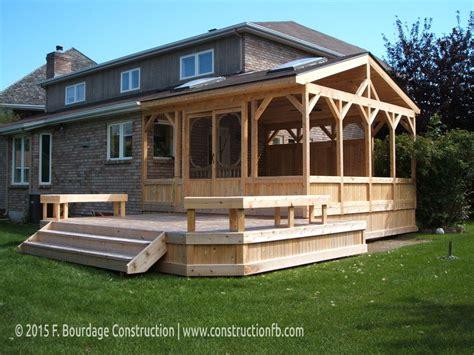 gazebo veranda gazebos verandas porches manotick ottawa f
