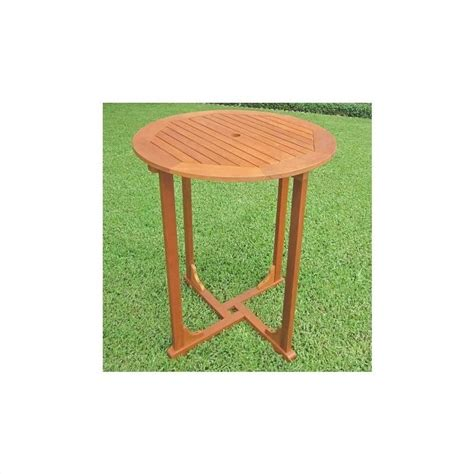 Patio Bar Height Tables International Caravan Royal Tahiti 36 Quot Bar Height Patio Outdoor Pub Table Ebay