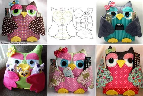 fabulous fabric owl pillow free template and guide
