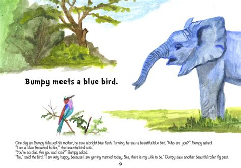 bobby the blue elephant books bumpy the blue elephant africa geographic