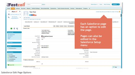 editing page layout salesforce fastcall installation guide first step to take