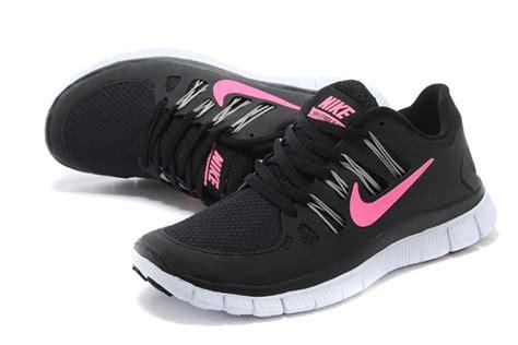 popular womens nike free 5 0 v2 running shoes black pink