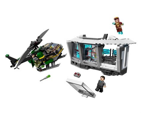 Lego 76007 Iron Malibu Mansion Attack onetwobrick set database lego 76007 iron malibu mansion attack