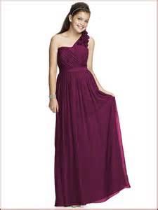 Junior bridesmaid wedding dresses for teen girls