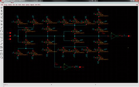 layout design in cadence virtuoso cadence virtuoso adder layout help needed