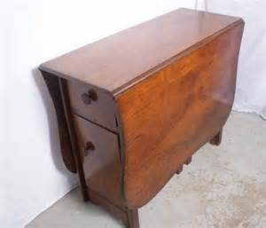 Drop Leaf Table With Storage Awesome Style Antique Walnut Drop Leaf Table W Storage Cabinet 5 X 3 Ft Drop Leaf