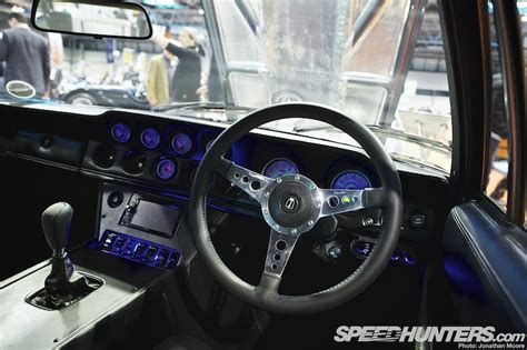 Classic Car With Modern Interior by The The Low The Future Of The Past Speedhunters
