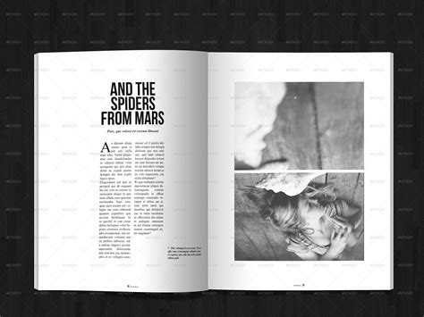 magazine layout minimal 40 pages minimal magazine by gianlucacarraro86 graphicriver