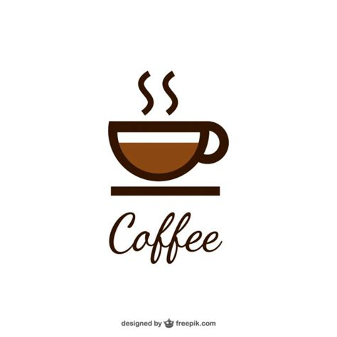 coffee cup coffee logo with cup vector free download