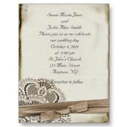 stylish vintage wedding invitation cards cheap wedding invitations