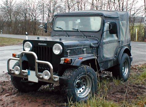 Major Jeep Modified The Legend Of Mountains Mahindra Major Cl550
