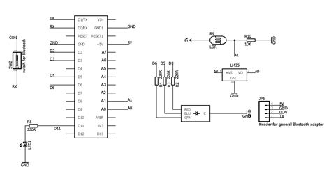 how to build a lm35 temperature sensor circuit how