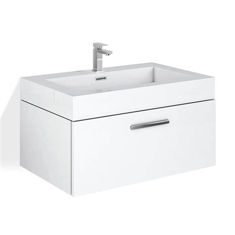 treos series 900 vanity unit wit h1 drawer and washbasin