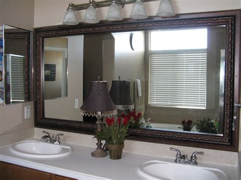 bathroom mirror frame kits 1000 images about great ideas on pinterest safe place