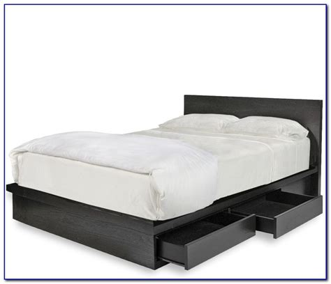 platform bed with storage queen queen size platform storage bed plans