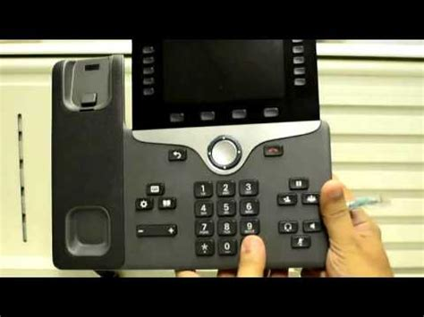 keypad phones 2016 how to perform factory reset on 8861 series phone using