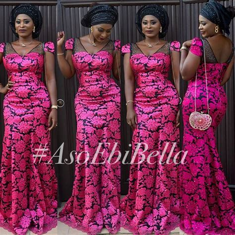 asoebi dress with cord lace cord lace dress styles aso ebi hairstylegalleries com
