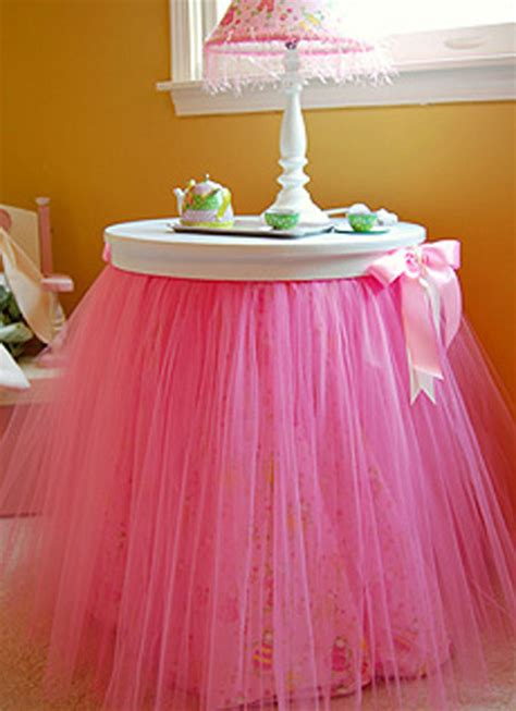 tutu table skirt ideas they re not just for