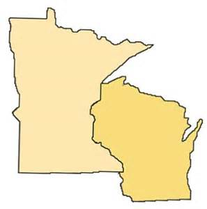 Minnesota Wisconsin Map by Map Of Wisconsin And Minnesota Clubmotorseattle