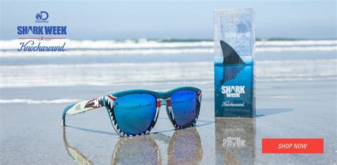 knockaround sunglasses discovery channel shark week