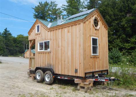 8x16 cross gable tiny house on a trailer custom tiny house trailer tiny house trailer review