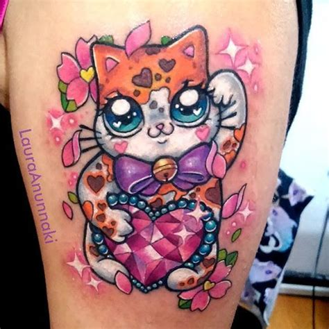 maneki neko tattoo best 20 lucky cat ideas on maneki neko