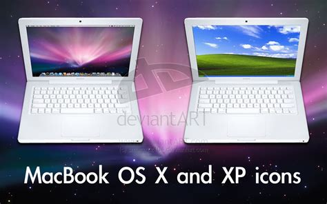 Macbook Pro Os X macbook os x and xp icons by smartazz104 on deviantart
