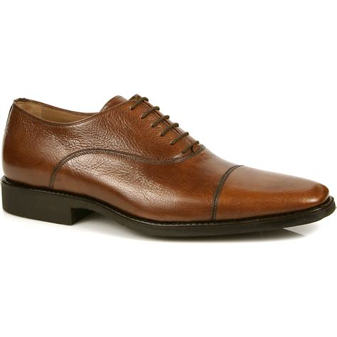 toe shoes michael toschi pietro cap toe shoes brown