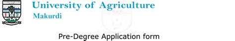 Acceptance Letter For Of Agriculture Makurdi Of Agriculture Makurdi