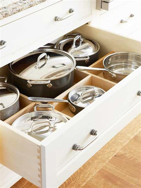 kitchen storage cabinets for pots and pans kitchen cabinets that store more pinterest