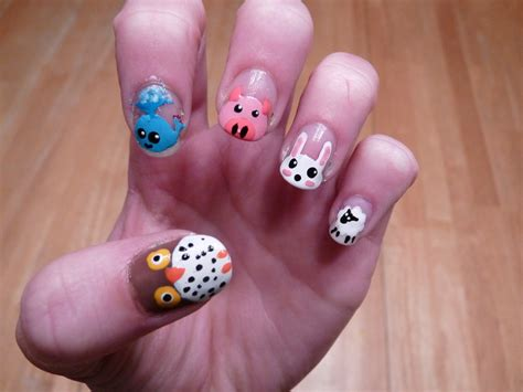 Animal Nail Designs animal print nail designs nail designs hair styles