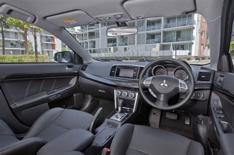 mitsubishi evo gsr interior 2016 mitsubishi lancer on sale in australia from 19 500