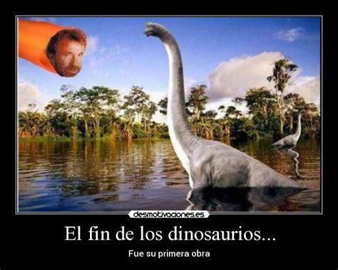 el fin de los el fin de los dinosaurios desmotivaciones