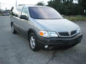 2001 Pontiac Montana Fuel 2001 Pontiac Montana Overview Cargurus