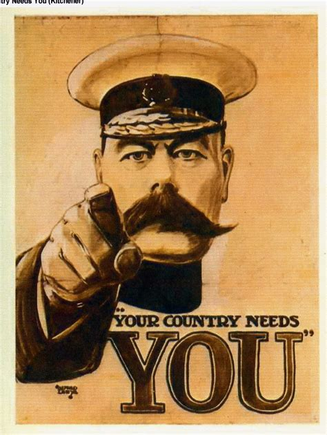 Kitchener Wants You by Britons Lord Kitchener Wants You