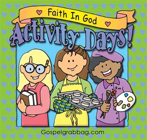 Activity Day On Activity Days faith in god activity days gospel grab bag