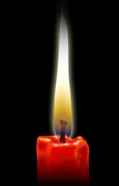 fiamma candela guide photoshop per animazioni 2d candela accesa