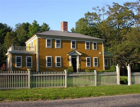 colonial farmhouse panoramio photo of sherborn colonial farmhouse 1776 georgian
